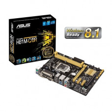 PLACA MÃE ASUS H81M-C/BR LGA 1150 DDR3 VGA, DVI-D, PARALELA, USB3.0