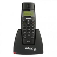 TELEFONE INTELBRAS SEM FIO TS 40 ID COM IDENTIFICADOR - PRETO