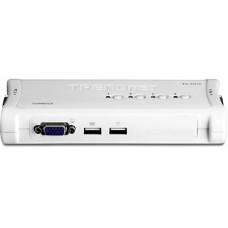 KVM TRENDNET USB 4 PORTAS COM 4 CABOS INCLUSOS TK-407K