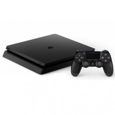 CONSOLE SONY PLAYSTATION 4 SLIM DE 500GB CUH-2115A BIVOLT - JET BLACK