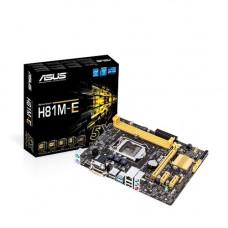 PLACA MÃE ASUS H81M-E LGA 1150 DDR3 DVI, VGA, USB3, SATA