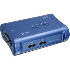 KVM TRENDNET USB 2 PORTAS COM 2 CABOS INCLUSOS TK-207K