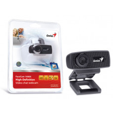 WEBCAM GENIUS FACECAM 1000X HD 720P USB 2.0 ZOOM 3X