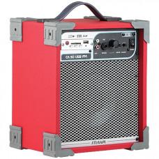 CAIXA AMPLIFICADA CA50 40W ''6'' RMS USB/SD/FM VERMELHA - FRAHM