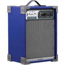 CAIXA AMPLIFICADA CA100 50W ''8'' RMS USB/SD/FM AZUL - FRAHM
