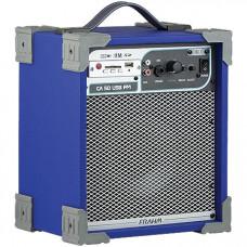 CAIXA AMPLIFICADA CA50 40W ''6'' RMS USB/SD/FM AZUL - FRAHM