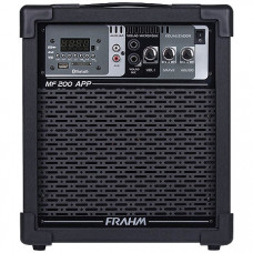 CAIXA MULTIUSO MF200 APP BLUETOOTH/SD/USB/FM 60W RMS - FRAHM