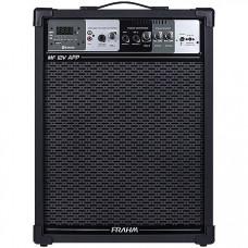 CAIXA AMPLIFICADA MULTIUSO MF12V APP 100W BLUETOOTH/USB/SD/FM COM BATERIA INTERNA - FRAHM
