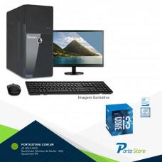 DESKTOP PS CORE I3-7100 3.9GHZ/4GB KINGSTON /500GB SEAGATE/ASROCK/7ºGERAÇÃO + MONITOR 18.5