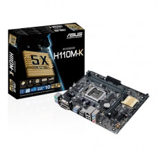 PLACA MÃE ASUS H110M-K LGA 1151 DDR4 VGA, DVI, USB3.0