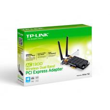 PLACA DE REDE TP-LINK WIRELESS ARCHER T6E AC1300 DUAL BAND WIFI ADAPTER PCI EX