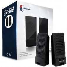 CAIXA DE SOM COLETEK SPEAKER 2.0 SP-302BK