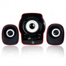 CAIXA DE SOM C3TECH SPEAKER 2.1 RÁDIO FM/SD/USB SP-10RD