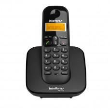 TELEFONE INTELBRAS SEM FIO TS 3110 PRETO COM IDENTIFICADOR