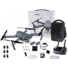 DRONE DJI MAVIC PRO, COM 2 BATERIAS E UMA MOCHILA - CP.PT.000648