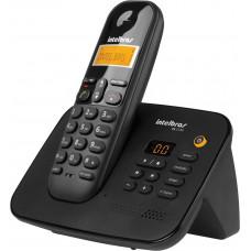 TELEFONE INTELBRAS SEM FIO TS 3130 COM SECRETÁRIA ELETRÔNICA DIGITAL - PRETO