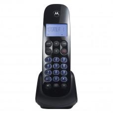 TELEFONE MOTOROLA SEM FIO MOTO750-SE COM ID, SECRETÁRIA E VIVA VOZ - PRETO
