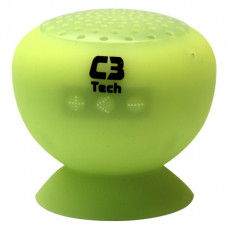 CAIXA DE SOM C3TECH BLUETOOTH SP-12B VERDE
