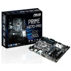 PLACA MÃE ASUS PRIME H270-PRO LGA 1151 DDR4 (X4) DVI, DISPLAYPORT, HDMI, USB3.1, TYPE C