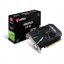 PLACA DE VÍDEO GEFORCE MSI GTX 1050 AERO ITX 2GB GDDR5 128BIT 7008MHZ HDMI DVI-D DP - 912-V809-2455