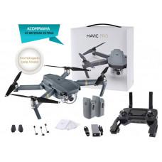 DRONE DJI MAVIC PRO, COM 2 BATERIAS - CP.PT.000506.EB