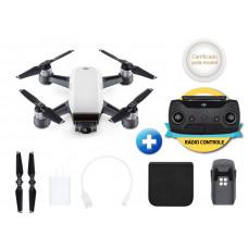 DRONE DJI SPARK WHITE ALPINE + RADIO CONTROLE - CP.PT.000736
