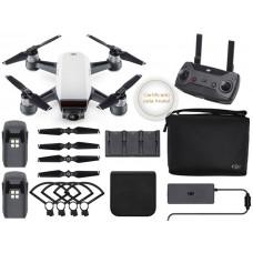 DRONE DJI SPARK WHITE ALPINE MORE COMBO COM RADIO CONTROLE - CP.PT.000909