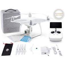 DRONE DJI PHANTOM 4 ADVANCED + RÁDIO CONTROLE C/ TELA INTEGRADA DE 5.5 POL - CP.PT.000703