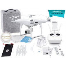 DRONE DJI PHANTOM 4 ADVANCED COMBO C/ 02 BATERIAS EXTRAS - CP.PT.000694.EB