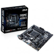 PLACA MÃE ASUS PRIME AMD AM4 A320M-A M.2 DDR4 VGA, DVI, HDMI, USB3
