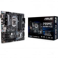 PLACA MÃE ASUS PRIME H370M-PLUS LGA 1151 VGA, HDMI, DVI, DP, USB3.1, DDR4 8º GERAÇÃO