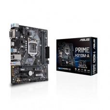 PLACA MÃE ASUS PRIME H310M-A DDR4 (X2) VGA, HDMI, DVI, USB3.1 - 8ª GERAÇÃO