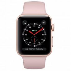 Apple Watch Série 3 42mm MQL22LL/A - Gold/Pink Sand