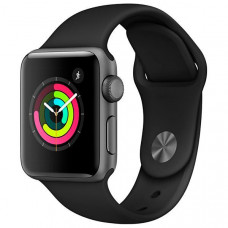 Apple Watch Série 3 38mm MR352LL/A - Space Gray / Gray