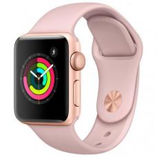 Apple Watch Série 3 38mm MQKW2LL/A - Gold / Pink Sand