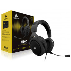 FONE COM MICROFONE CORSAIR GAMER HS60 VIRTUAL 7.1 SURROUND CARBON