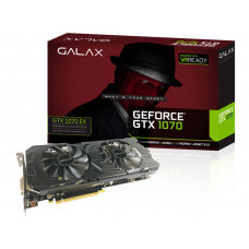 PLACA DE VÍDEO GEFORCE GALAX GTX 1070 EX 8GB DDR5 256BIT 8000MHZ DVI HDMI DP - 70NSH6DHL4XE
