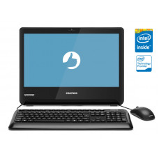 ALL IN ONE POSITIVO MASTER U1300 DUAL CORE N3060 4GB 500GB 18.5 LED HD LINUX