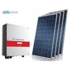 GERADOR DE ENERGIA COLONIAL ALDO SOLAR GEF-3300CC 3,3KWP MONO 220V CANADIAN