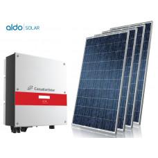 GERADOR DE ENERGIA COLONIAL ALDO SOLAR GEF-3960CC 3,96KWP MONO 220V CANADIAN