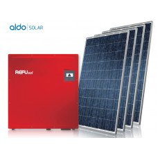 GERADOR DE ENERGIA COLONIAL ALDO SOLAR GEF-47520RC 47,52KWP REFUSOL TRIF 380V CANADIAN