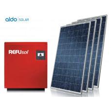 GERADOR DE ENERGIA FIBROCIMENTO ALDO SOLAR GEF-12540RP 12,54KWP REFUSOL TRIF 220V CANADIAN