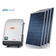 GERADOR DE ENERGIA FIBROCIMENTO ALDO SOLAR GEF-26400FP 26,4KWP FRONIUS ECO TRIF 380V CANADIAN