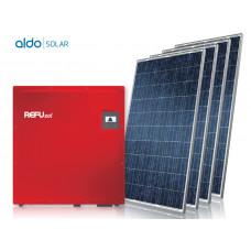 GERADOR DE ENERGIA FIBROCIMENTO ALDO SOLAR GEF-37620RP 37,62KWP REFUSOL TRIF 380V CANADIAN