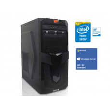 SERVIDOR TORRE INTEL WINDOWS SERVER CENTRIUM SC-T1200 QUAD CORE XEON 1220V3 3.1GHZ 8GB UDIMM 1TB 201