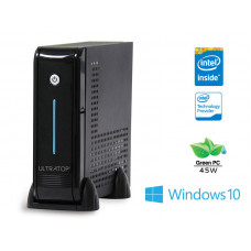 DESKTOP INTEL CENTRIUM ULTRATOP INTEL DUAL CORE J3060 1.6GHZ 4GB SSD 120GB 2XSERIAL WINDOWS 10 PRO