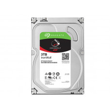 HD SEAGATE NAS SATA IRONWOLF ST3000VN007 3 TERA 5900RPM 64MB CACHE SATA 6GB/S
