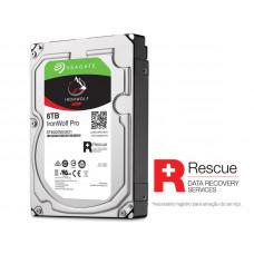 HD SEAGATE NAS SATA IRONWOLF PRO ST6000NE0021 6 TERA 7200RPM 256MB CACHE SATA 6GB/S
