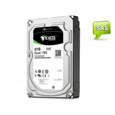 HD SEAGATE ENTERPRISE SERVIDOR EXOS ST8000NM0075 8 TERAS 7200RPM 256MB CACHE SAS 12GB/S