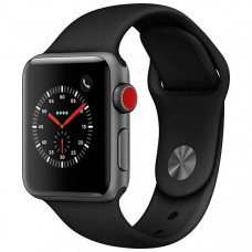 APPLE WATCH SERIES 3 42MM MTF32LL/A A1859 - SPACE GRAY / GRAY